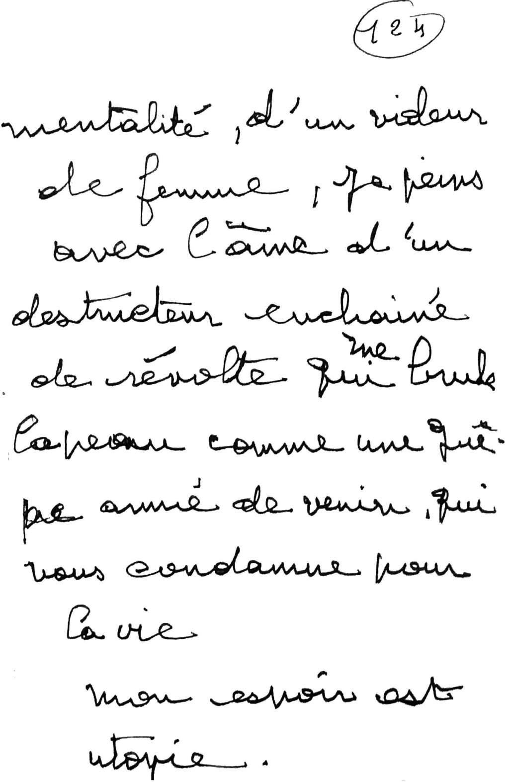 manuscrit du poème 2568