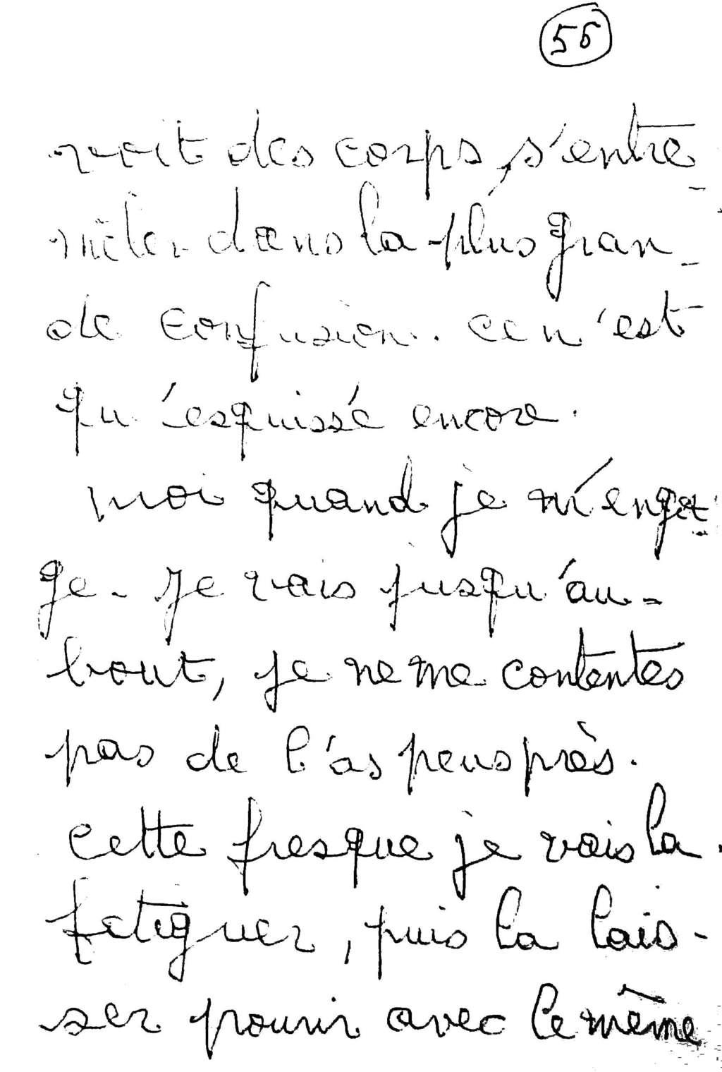 manuscrit du poème 2578