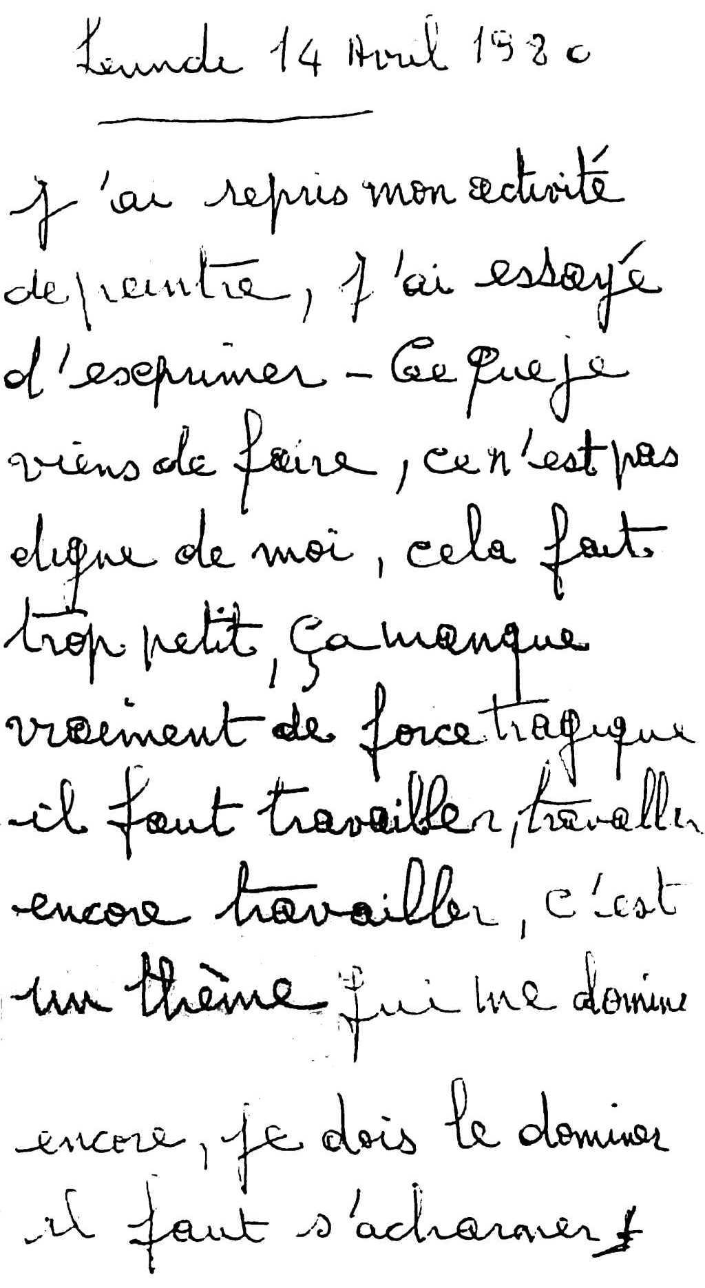 manuscrit du poème 2756