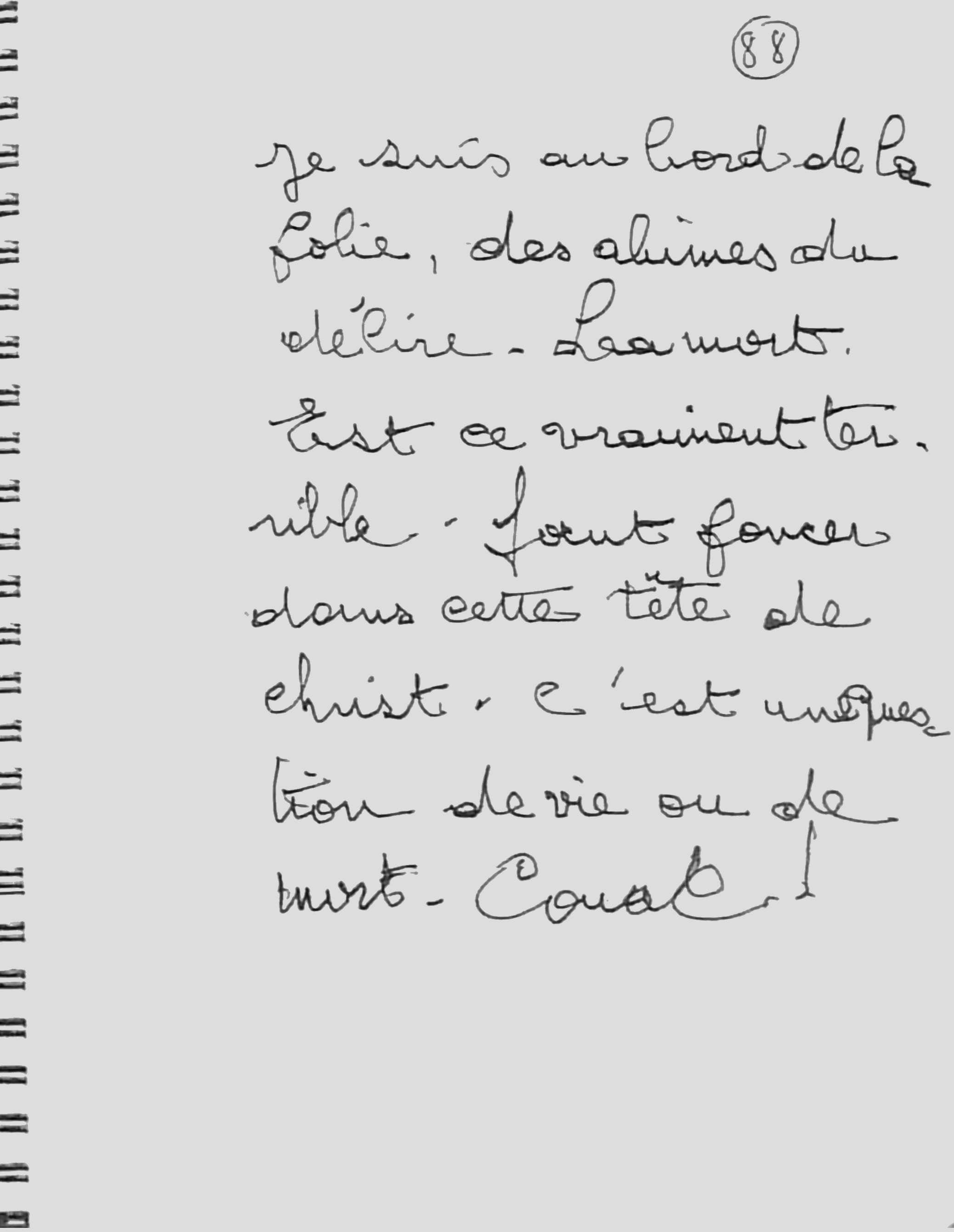 manuscrit du poème 2759