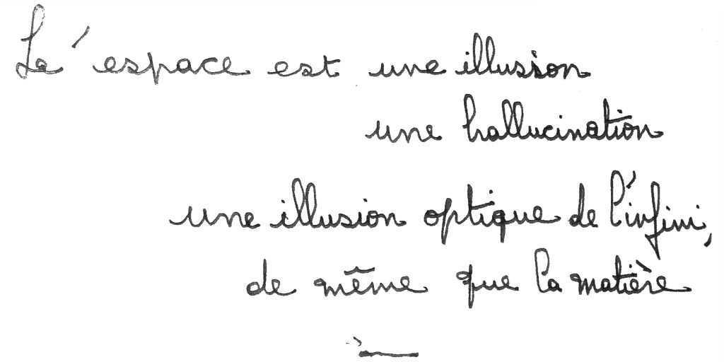 manuscrit du poème 2848