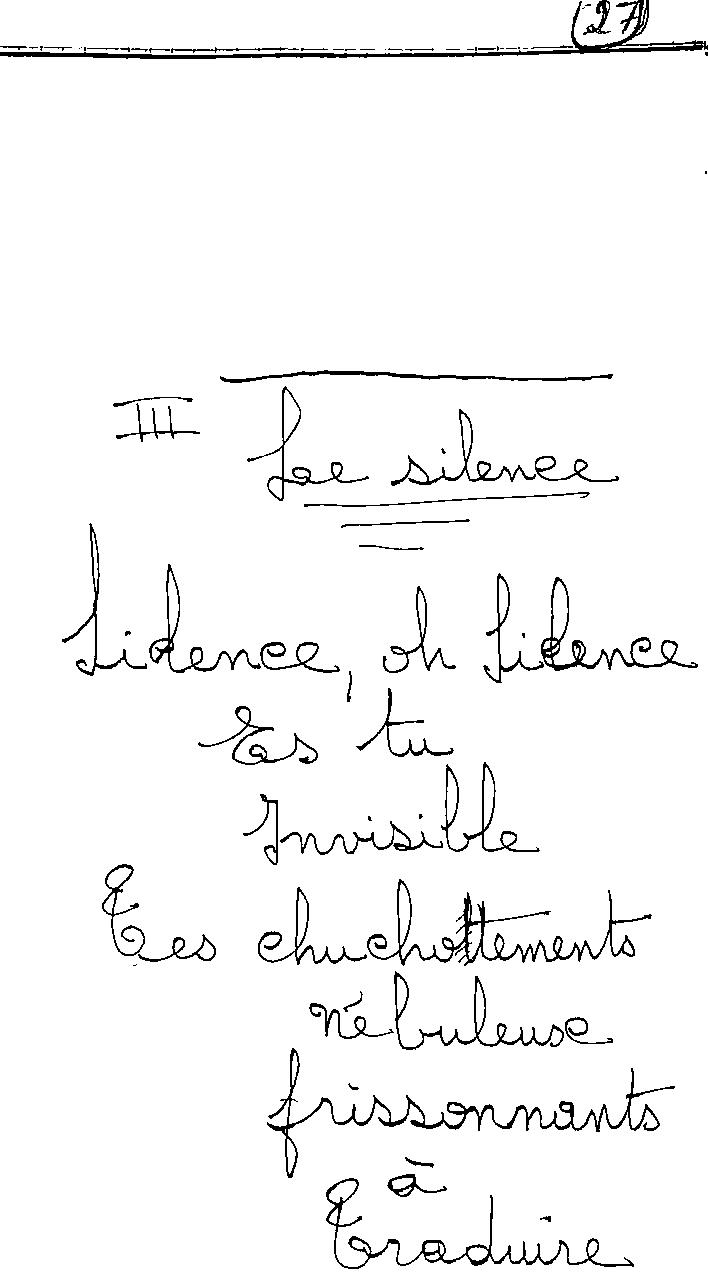 manuscrit du poème 2432b