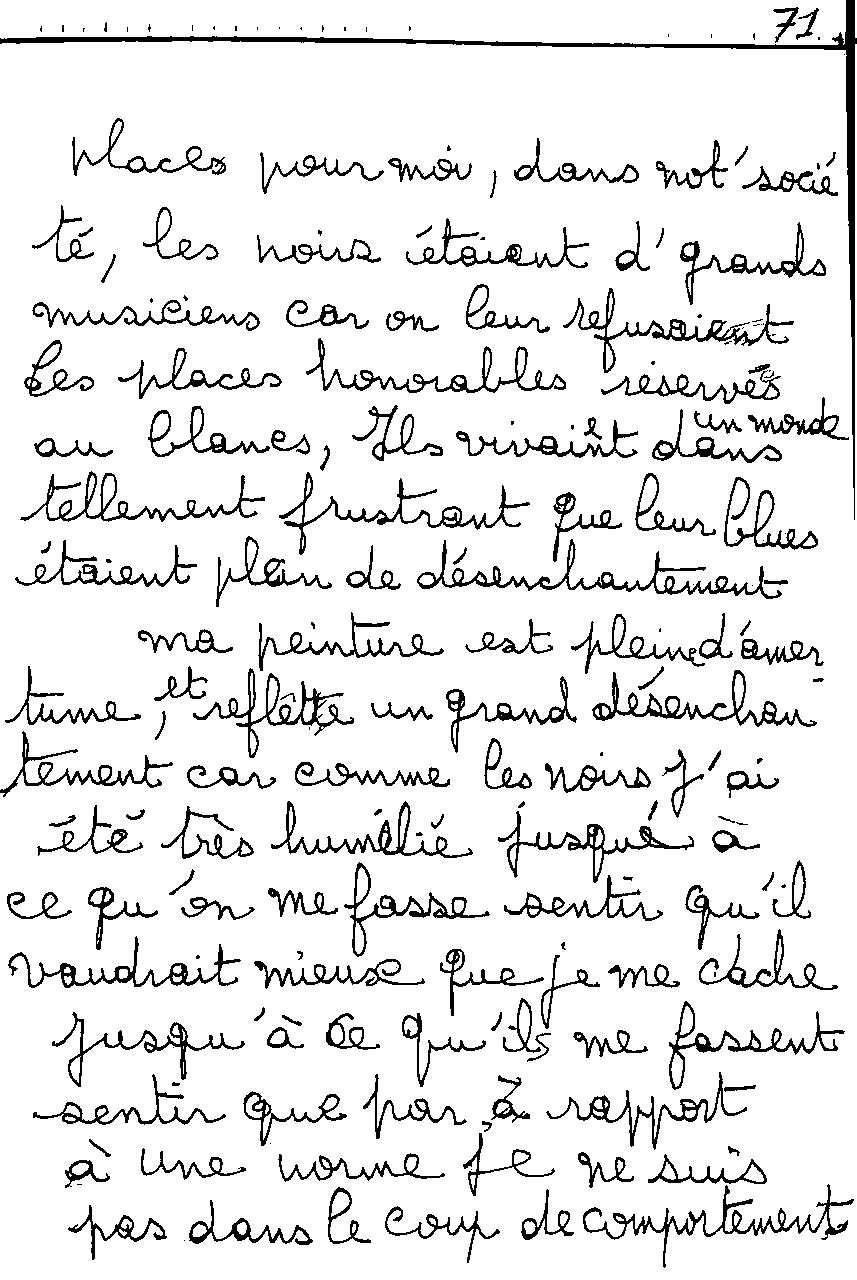 manuscrit du poème 2481