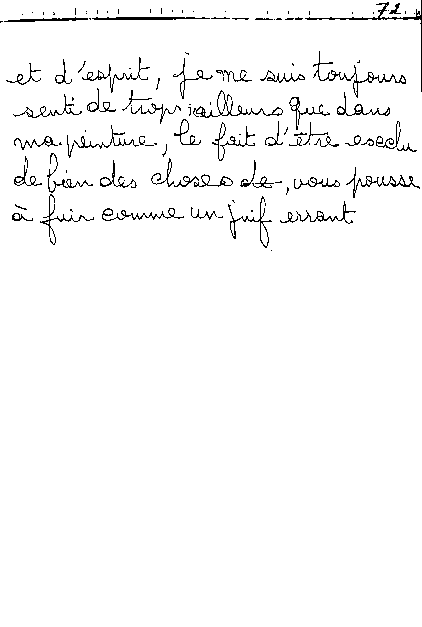 manuscrit du poème 2482a